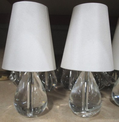 *TEAR DROP GLASS BAR LAMP