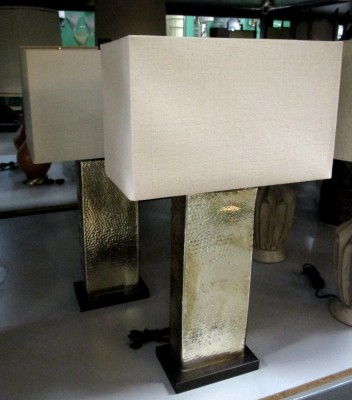 *HAMMERED LAMP