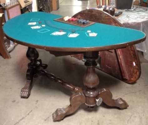 VINTAGE BLACKJACK TABLE
