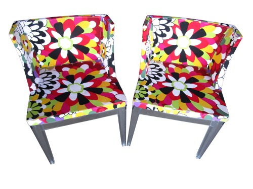 COLORFUL FLORAL CHAIRS