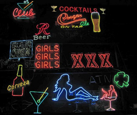 ASSORTED NEON SIGNS