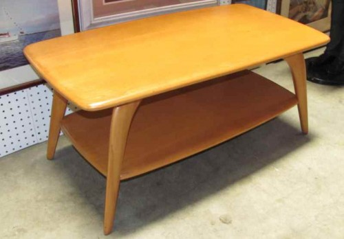 Blonde Coffee Table In Furniture Tables